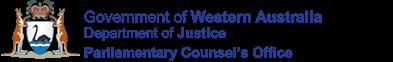 Western Australian Legislation - ActsSubsidiary LegislationLegislation InformationParliamentary BillsLegislation Text and Information