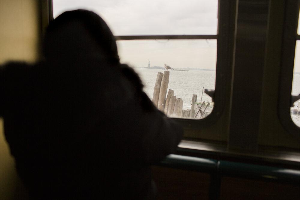 America Mendez. Staten Island Ferry, New York. 2017.
