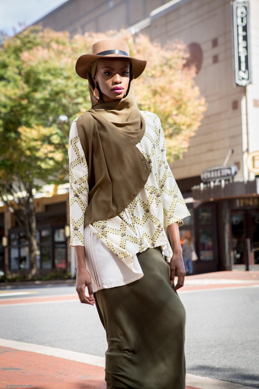 Stylist: Hakeemah Cummings,  CMB by Hakeemah    Model:  Jeronique    Photography:  Malikah Photography