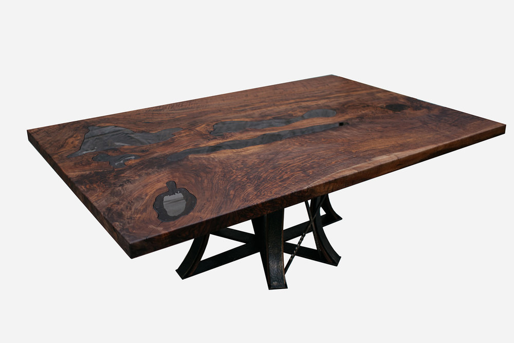 Black Walnut Lake Table