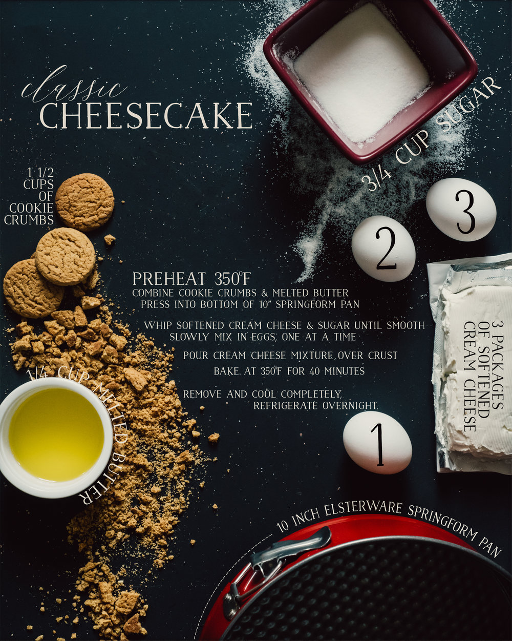 simple cheesecake recipe design