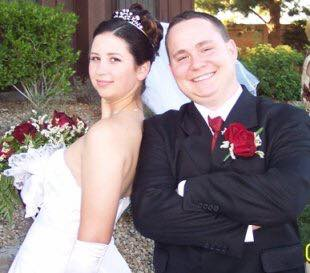 bride and groom las vegas weddings