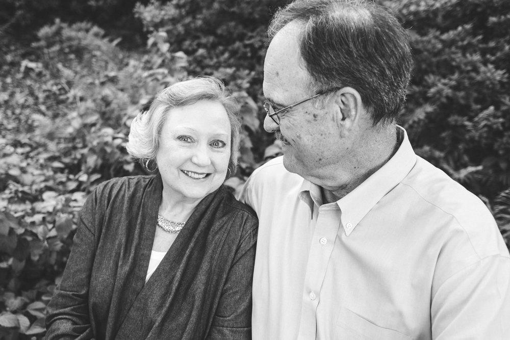 Black and white image couple by Amanda Lynn Photography Oklahoma.