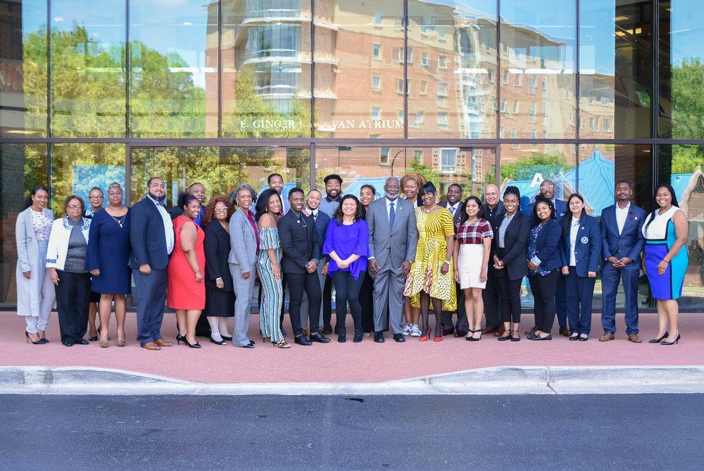 2018 CHLP Graduates with Dr. David Satcher