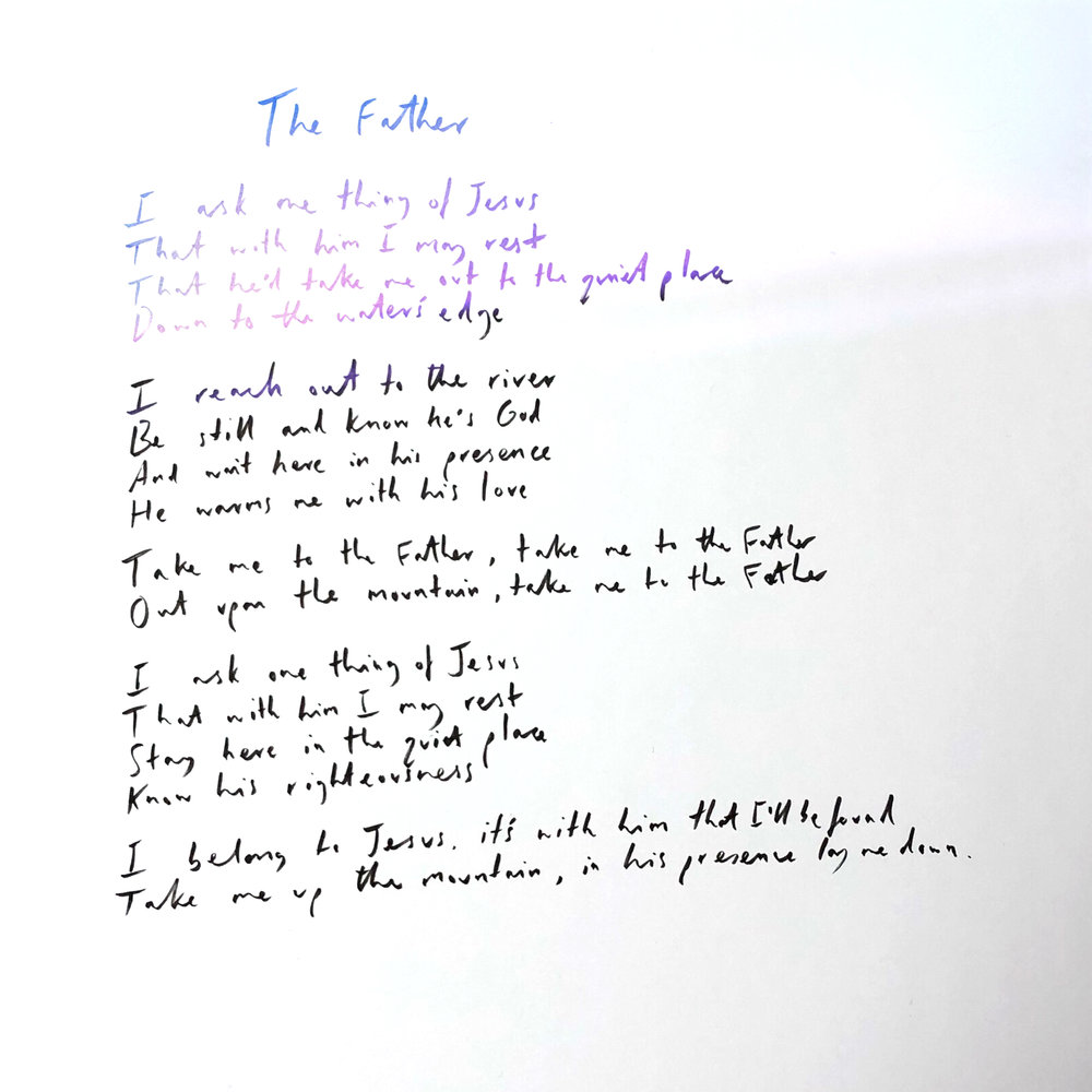 Handwritten The Father.JPG