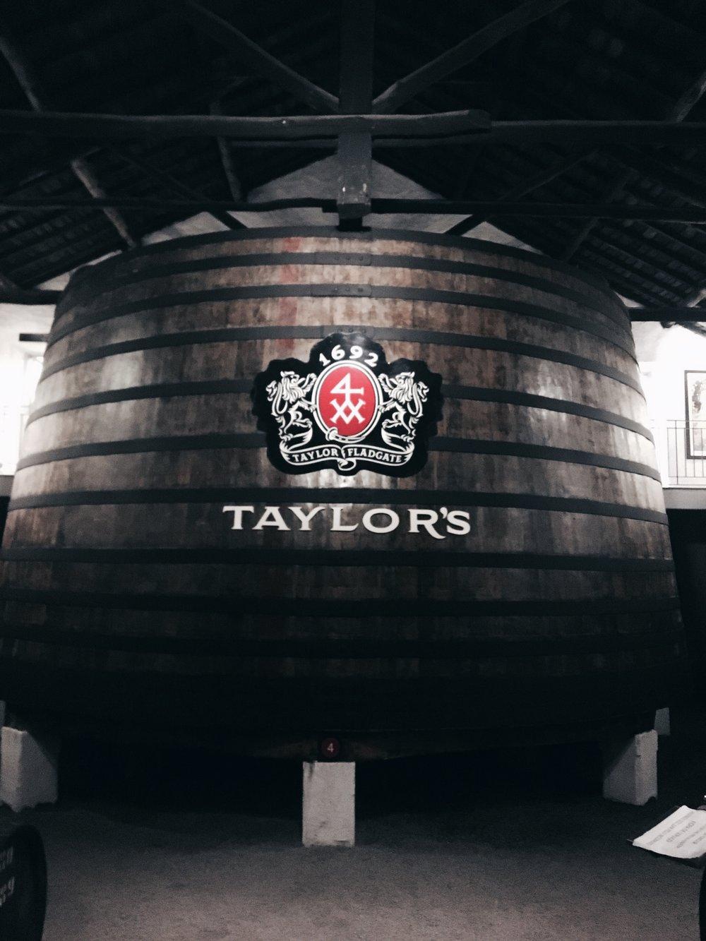 Taylor's Wine cellar