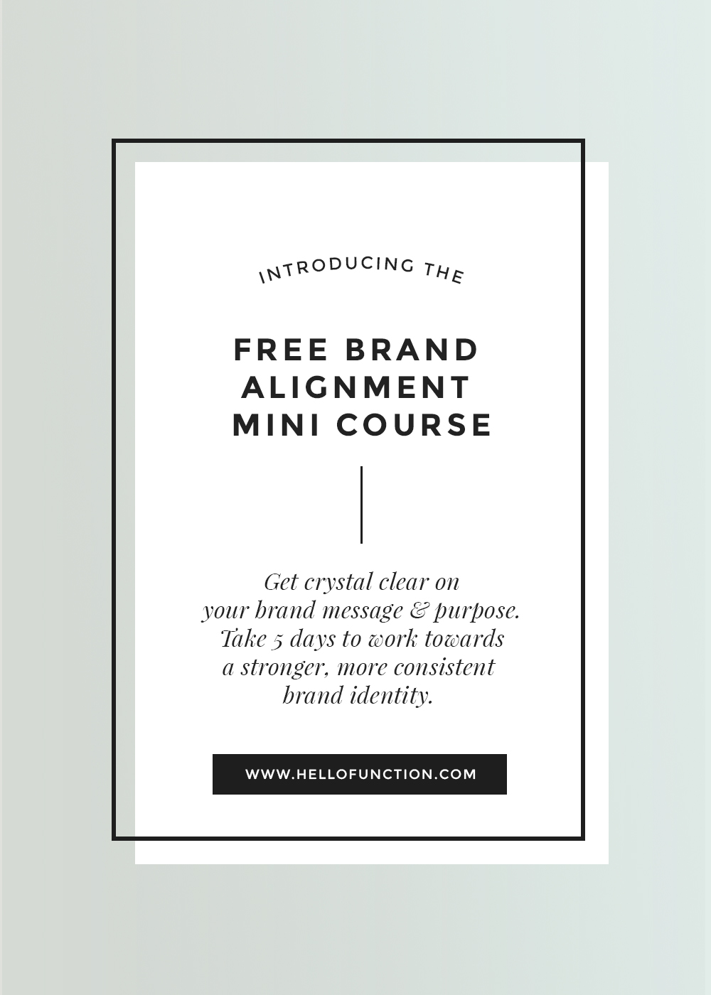free brand consultation series challenge