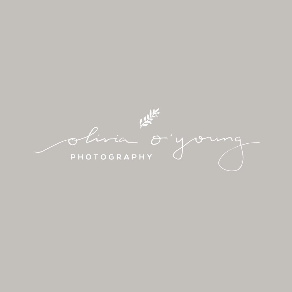 olivia o'young photography brand + web design