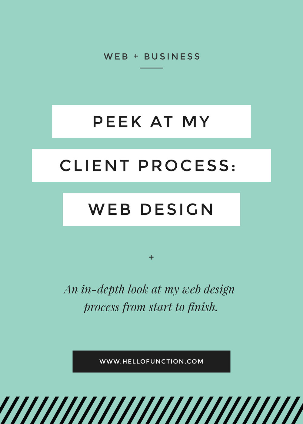 web designer client process for website design