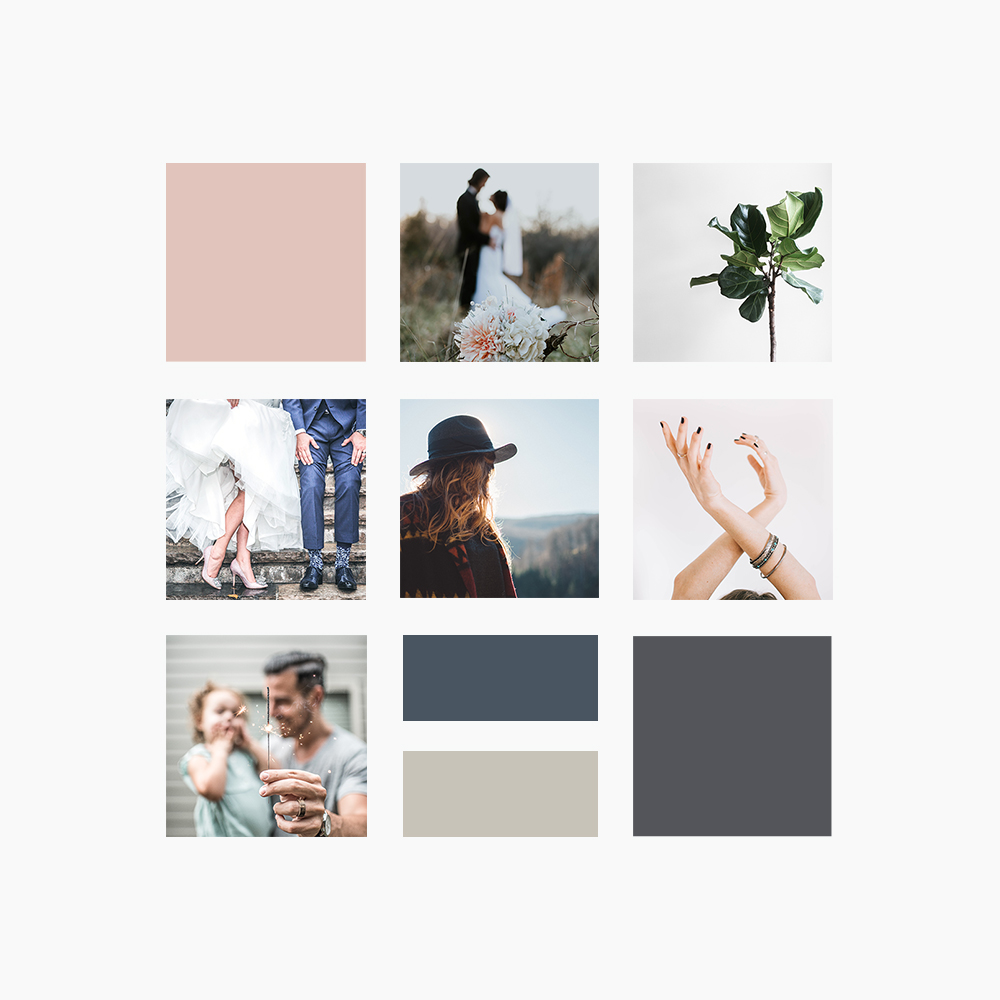 olivia oyoung photography brand moodboard