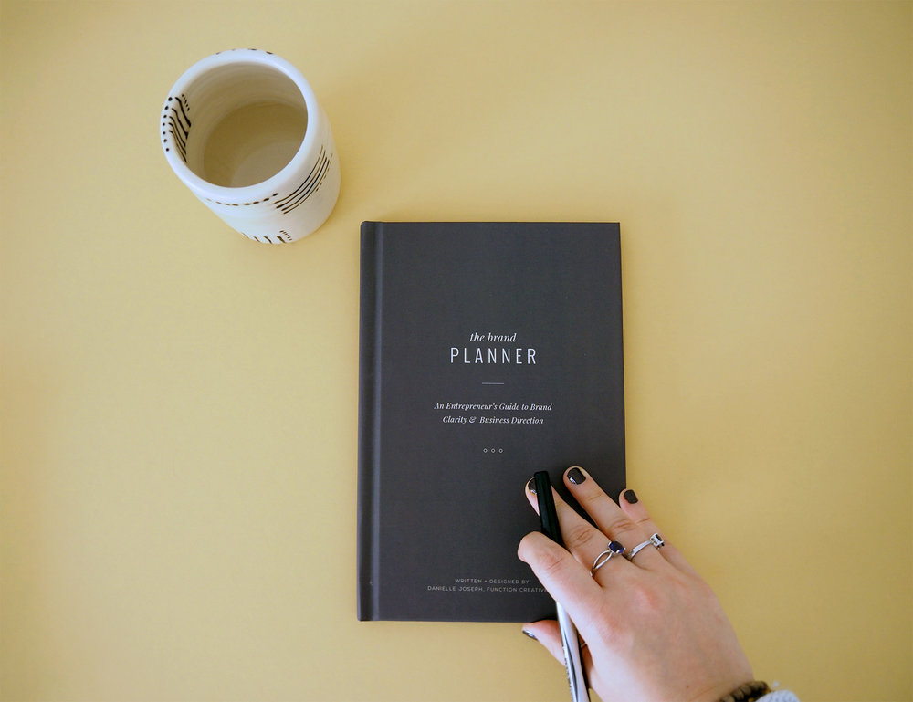 the brand planner function creative co a planner for entrepreneurs and business owners brand coaching brand strategy
