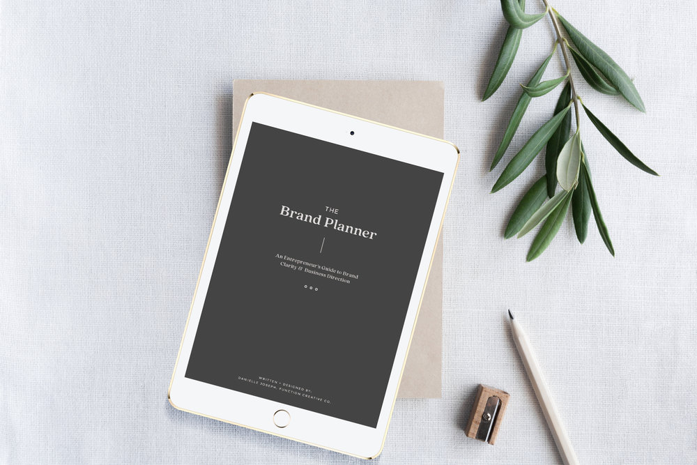 the brand planner for entrepreneurs and business owners