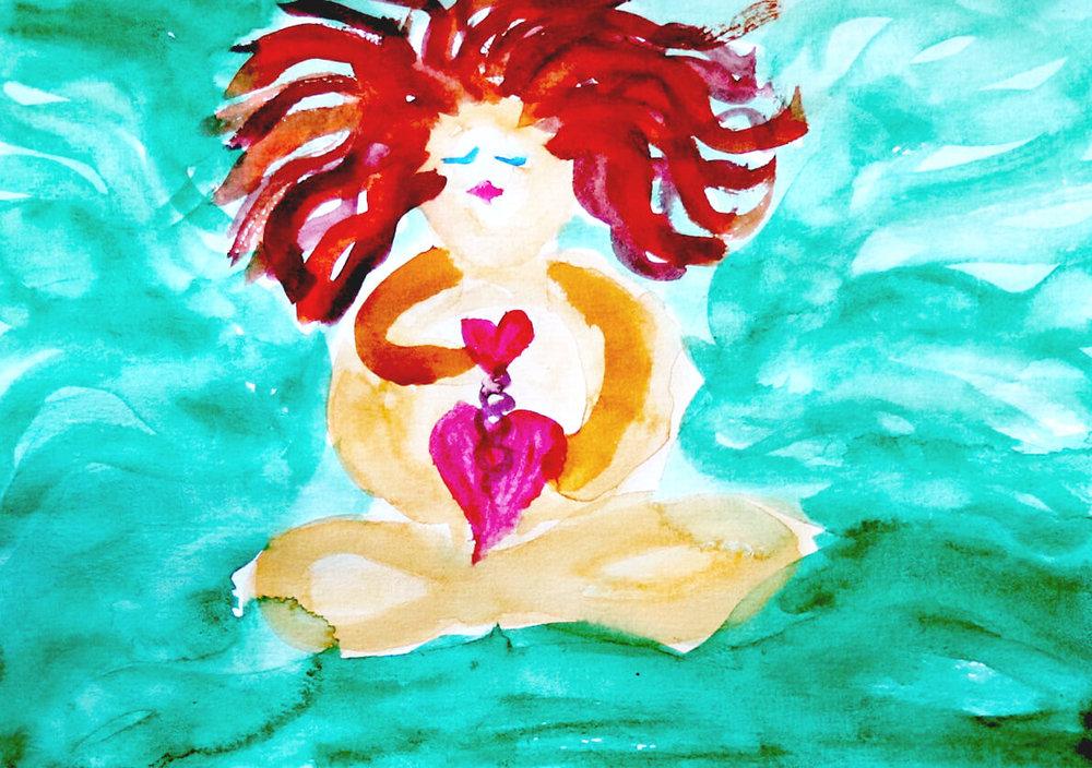 Original painting by Ingeborg