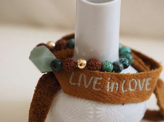 mala jewelry product photography by Function Creative Co.