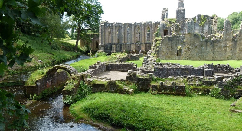 UNESCO World Heritage site of Fountains Abbey