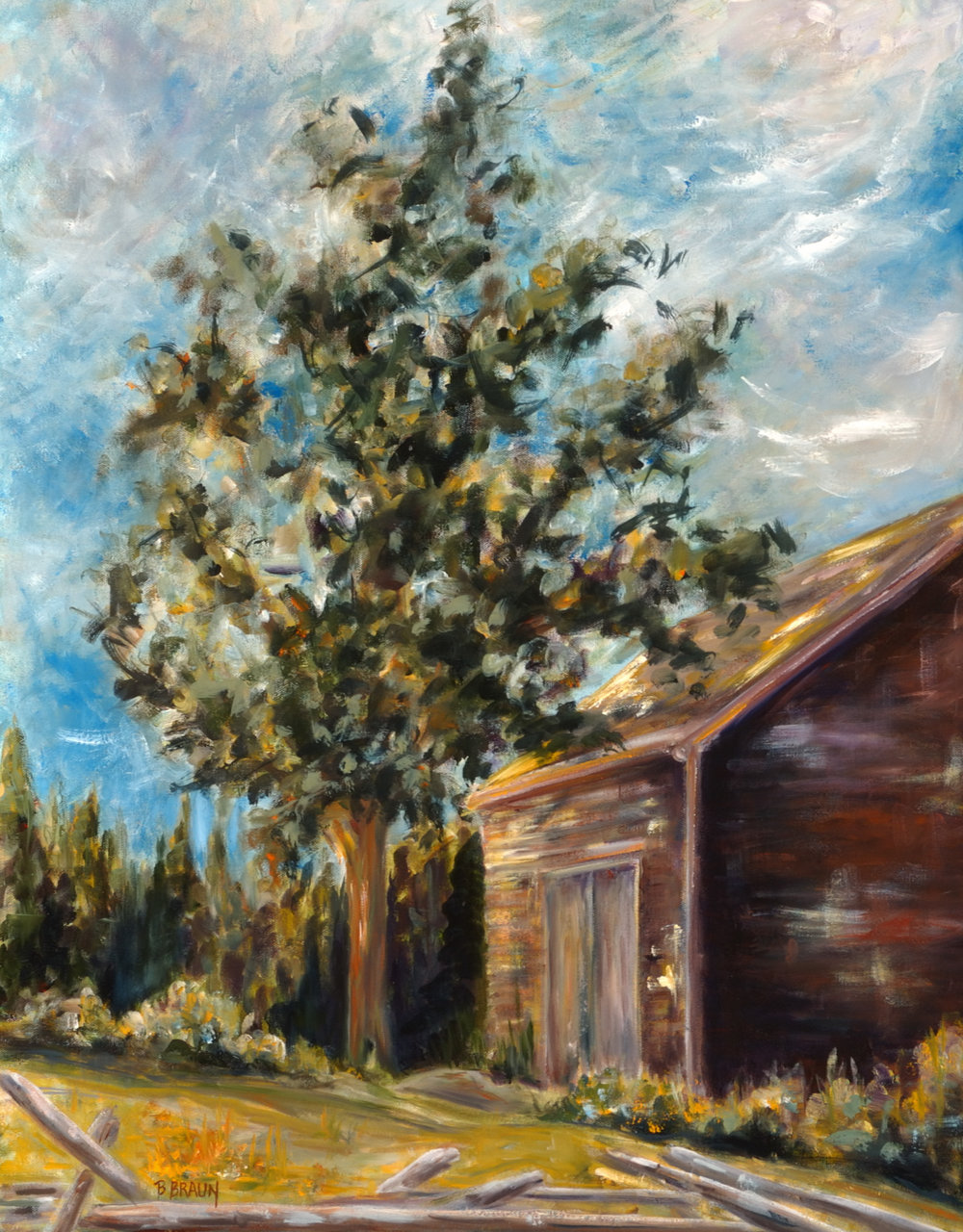 JOHN BROWN'S BARN - SOLD