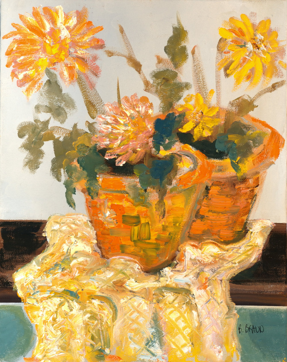 SUMMER POTS - SOLD