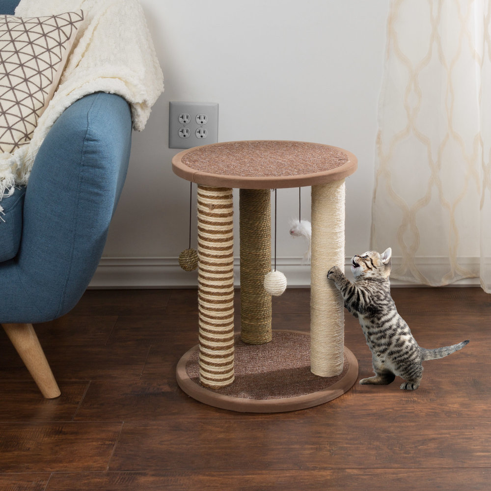 Scratching Posts with Toys
