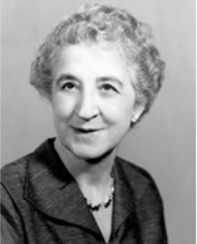 Lillian Portenier, Psi Chi National President, 1949-52