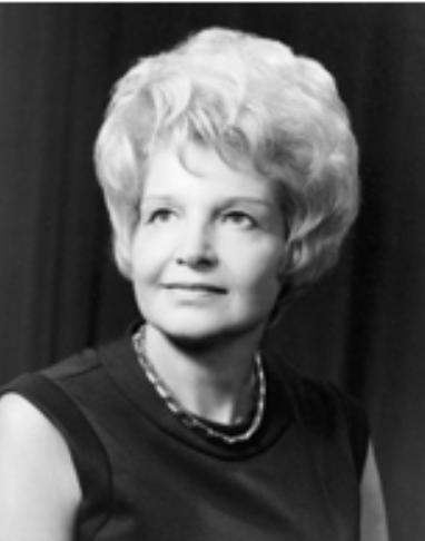 Ruth H. Cousins Executive Secretary, 1959-68 Executive Director, 1969-91