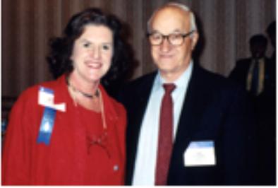 Albert Bandura, Psi Chi Distinguished Member, and Kay Wilson