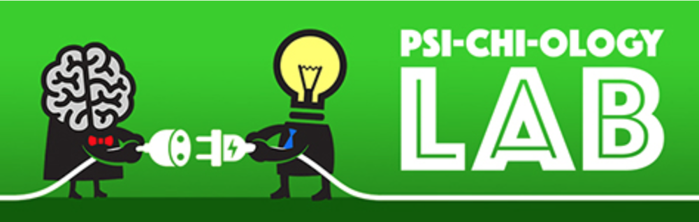 "The goal of Psi-Chi-ology Lab is to make learning in the ""psychology lab"" fun."