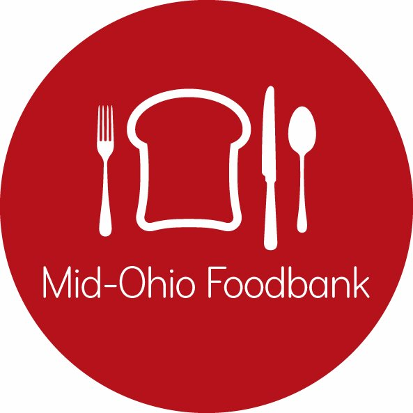 Mid-Ohio Foodbank  - We are proud to be an agency services partner with Mid-Ohio. This program allows us to benefit from Mid-Ohio's extensive resources for things like reduced-cost food purchasing, operations support, and educational opportunities.