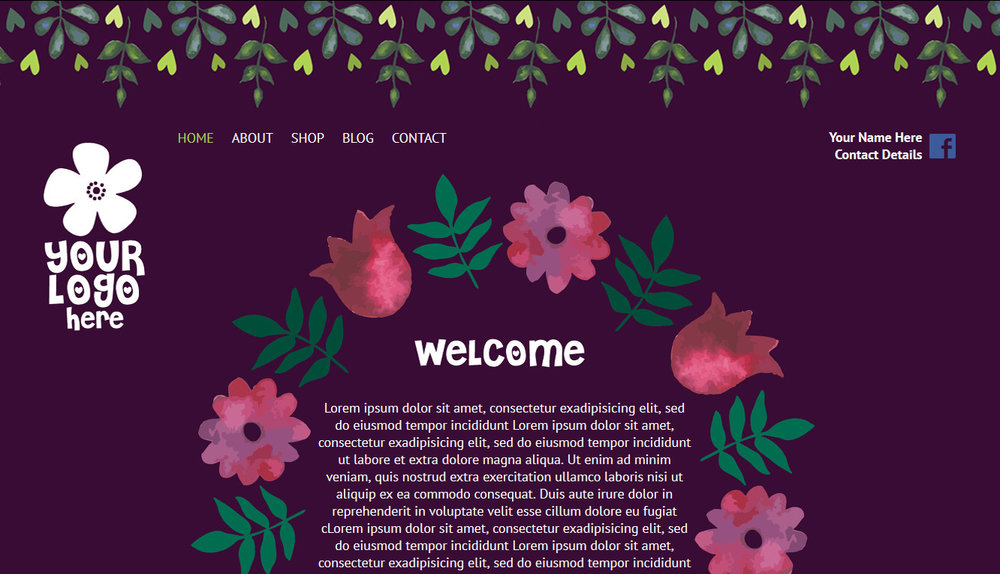 Example Website 1