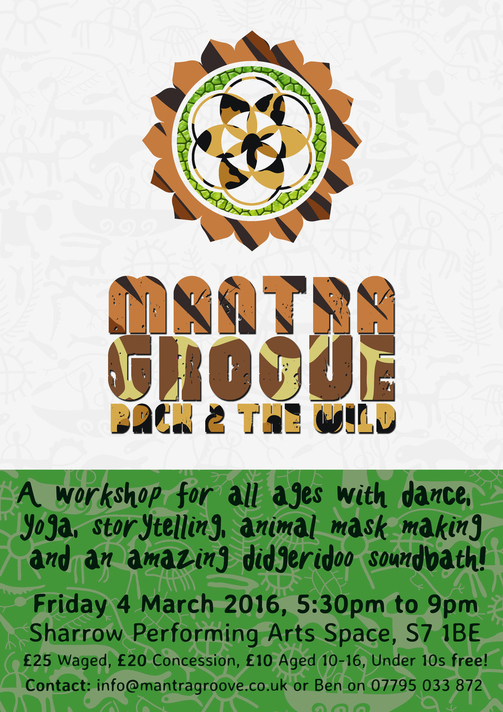 Mantra Groove Back 2 The Wild