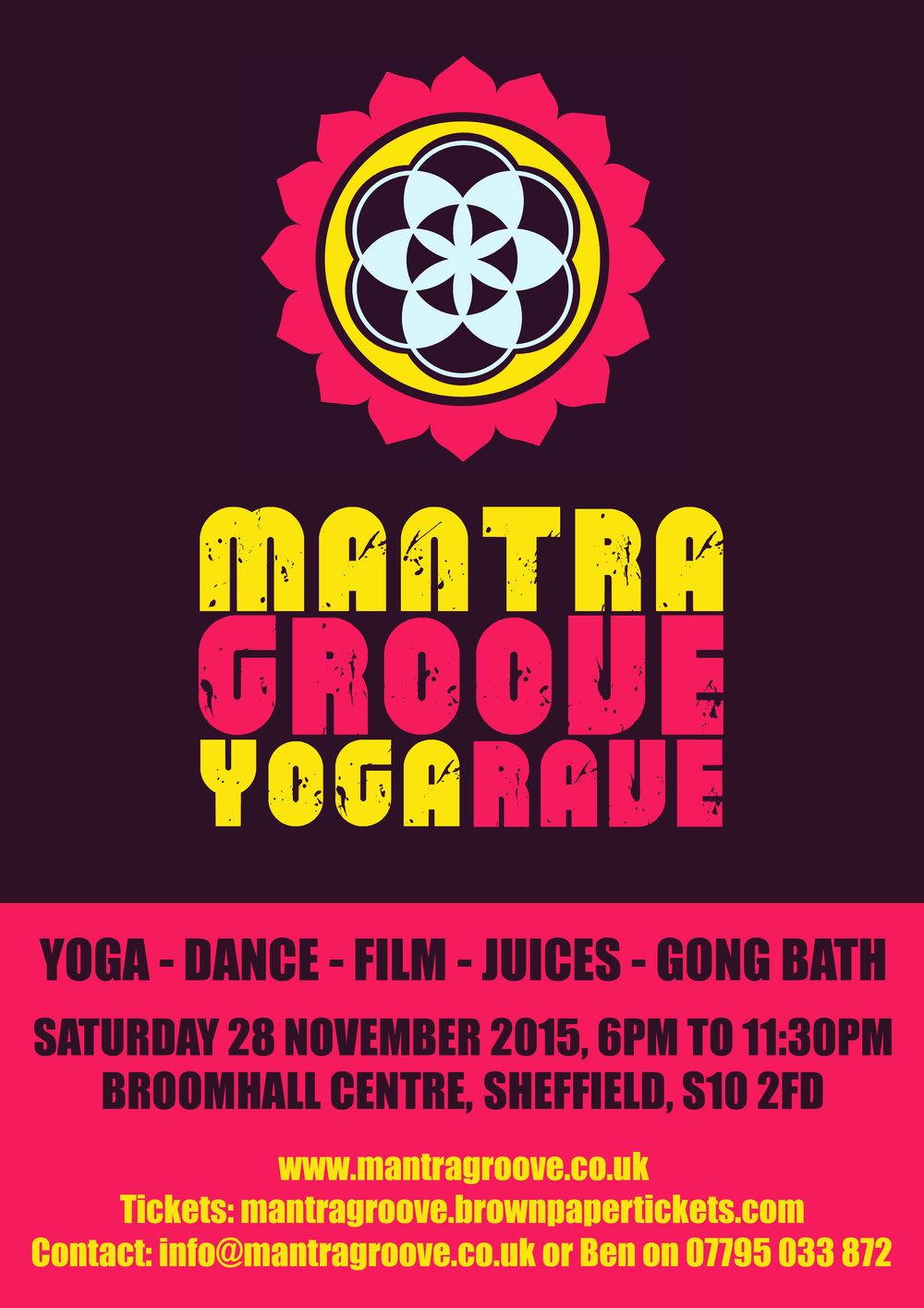 Mantra Groove Yoga Rave