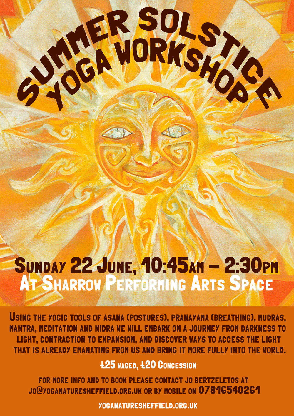 Summer Solstice Workshop