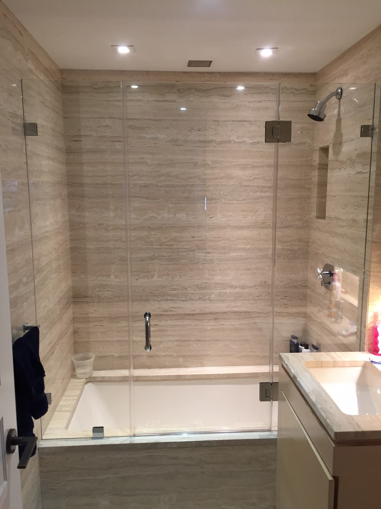 Glass shower doors king david gallery nyc custom glass glass shower doors planetlyrics Gallery