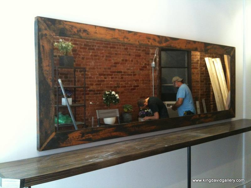 Stainless Steel Framing — King David Gallery | NYC | Custom Glass ...