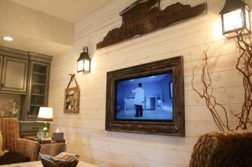 TV Frames & Mirrors — King David Gallery | NYC | Custom Glass ...