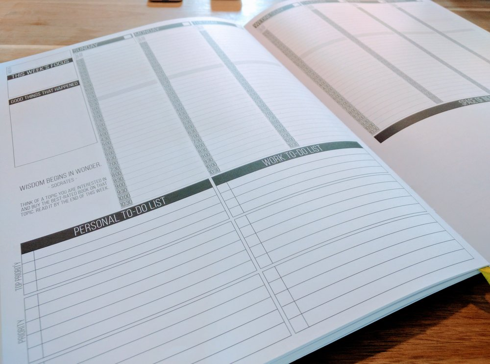 The Metis-approved productivity notebook: Passion Planner