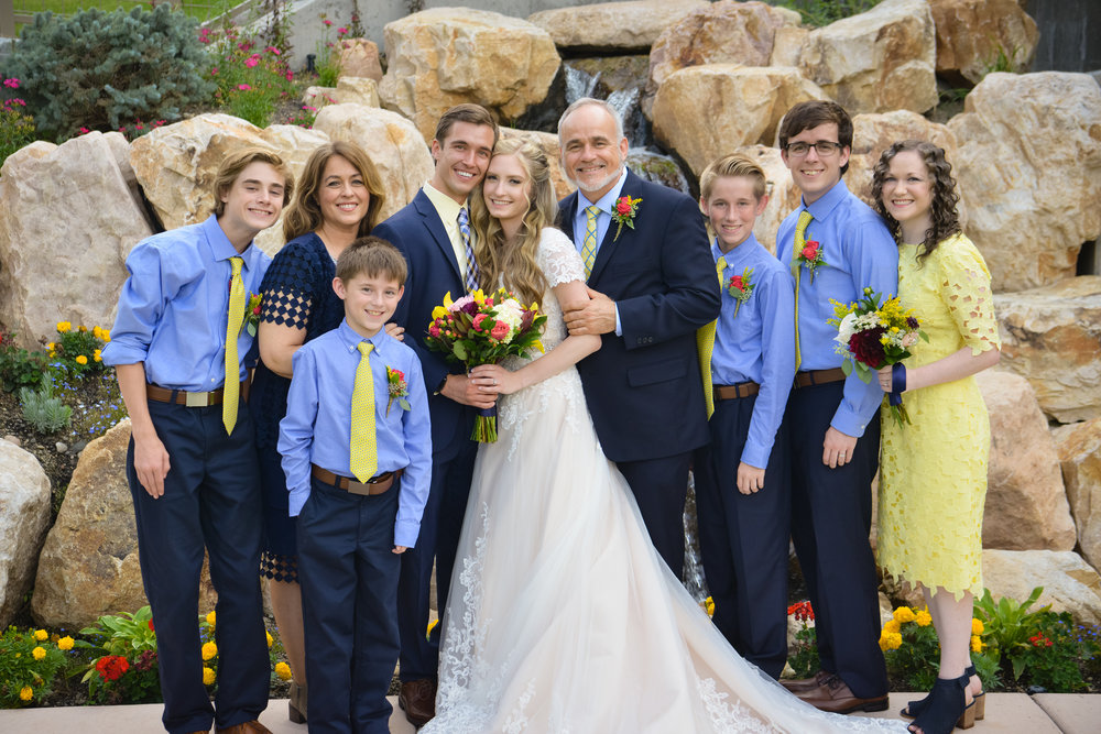 Dr. Felt's Family September 2016