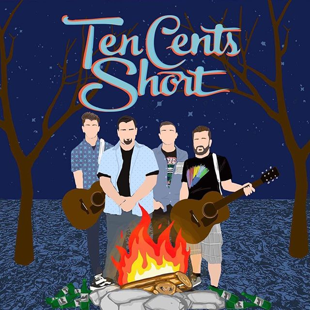 """Very happy to share with you all our acoustic version of """"Beggars"""". Music Video link in bio!!!! #tencentsshort #poppunk #acoustic #thiswildlife #statechamps #purenoiserecords #mtvunplugged #art"""