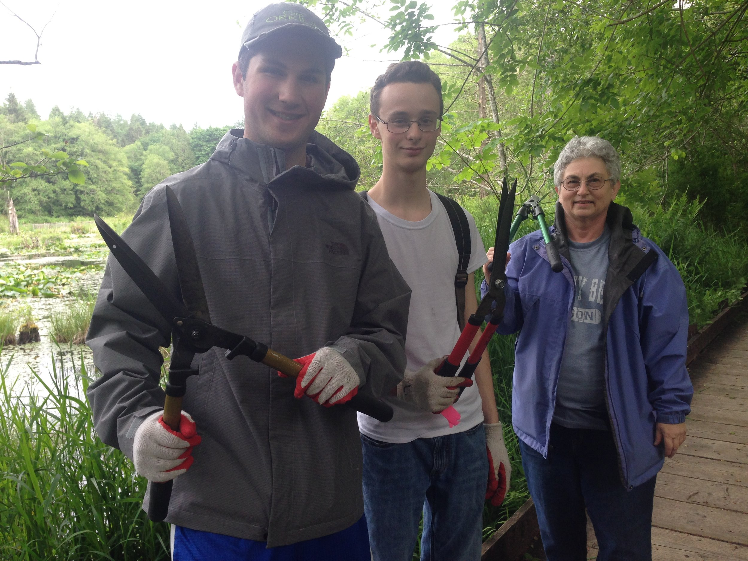 Monthly plant walks native plant salvage foundation for Fred meyer fishing license
