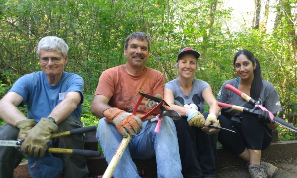McLane Creek Trail Maintenance   Next work party: July 17   We're going to be doing more frequent trail maintenance at McLane Creek throughout the spring, to keep visitors safe on this beautiful public trail!    Learn when and how to volunteer