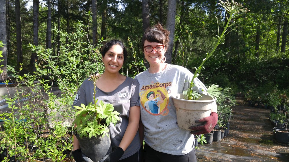 m and ev with plants.jpg