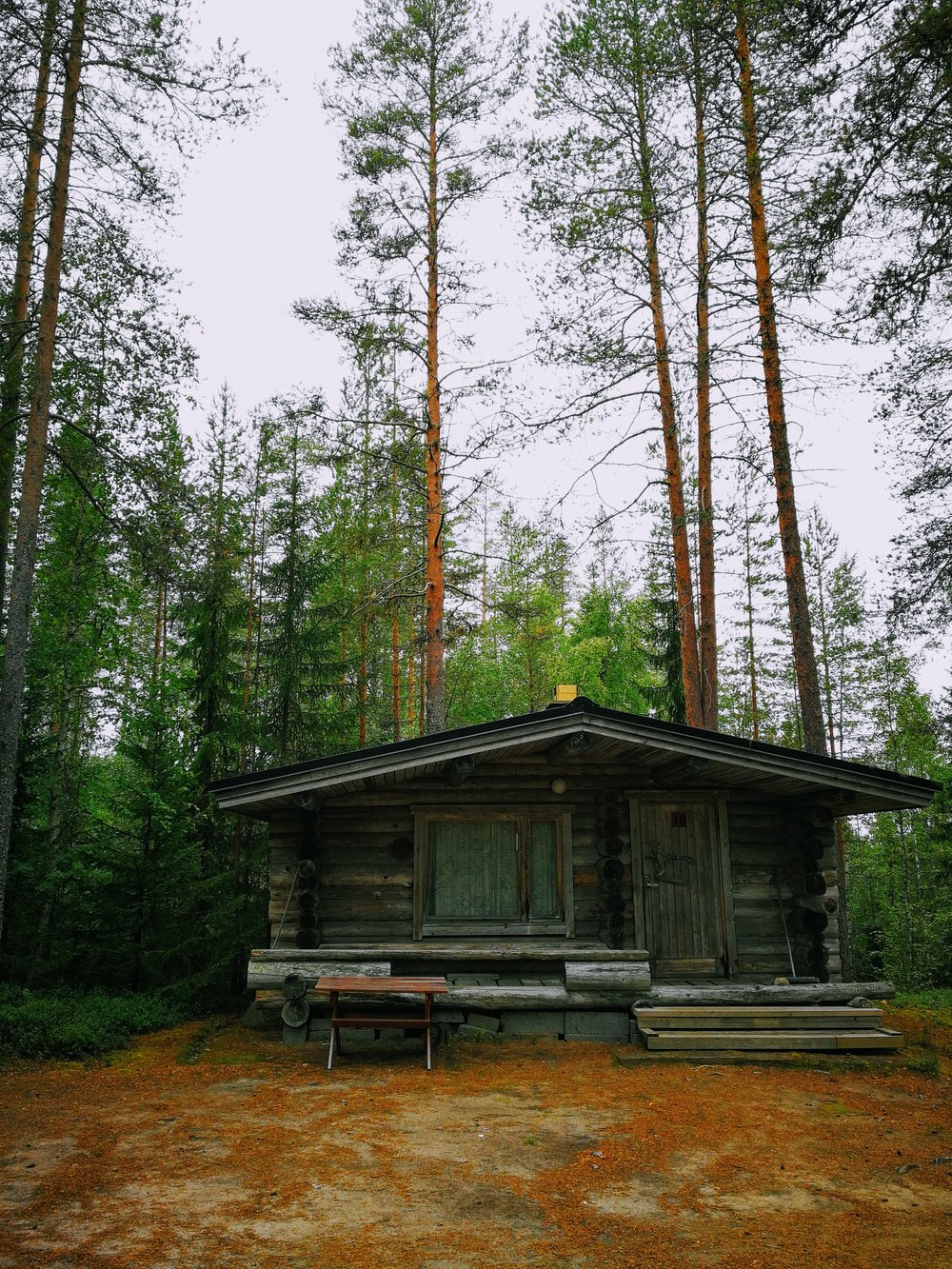 Just one of many cabins available near Kehys-Kainuu, Finland