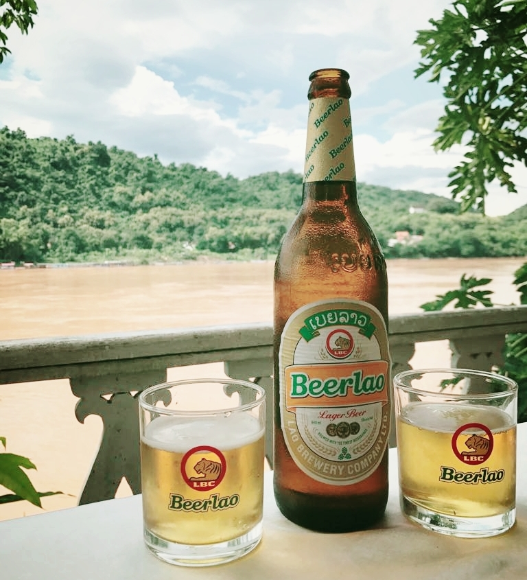 Don't be afraid to try local beers on your trip. I spent part of my summer traveling through Laos and discovered locally brewed Lao Beer!