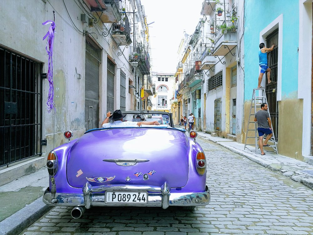 The streets of La Havana, November 2018