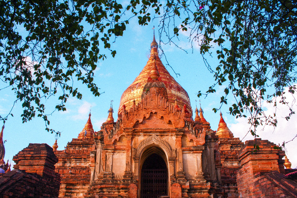 A temple in Bagan that was destroyed in an earthquake in the summer of 2016. This photo was taken in 2011 on my first trip to Myanmar.