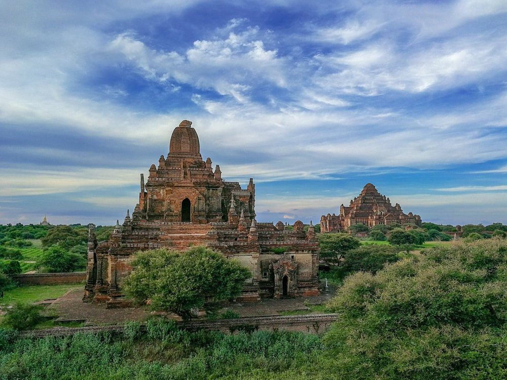 Exploring the ancient city of Bagan, which has thousands of pagodas scattered across the region.