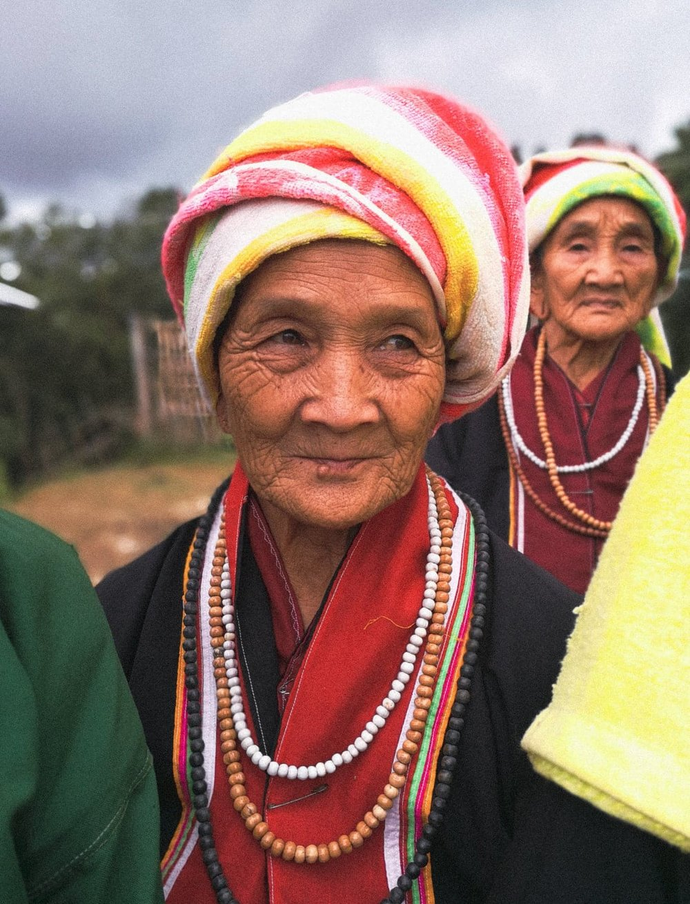 An elder of a Palaung community in northern Shan State.