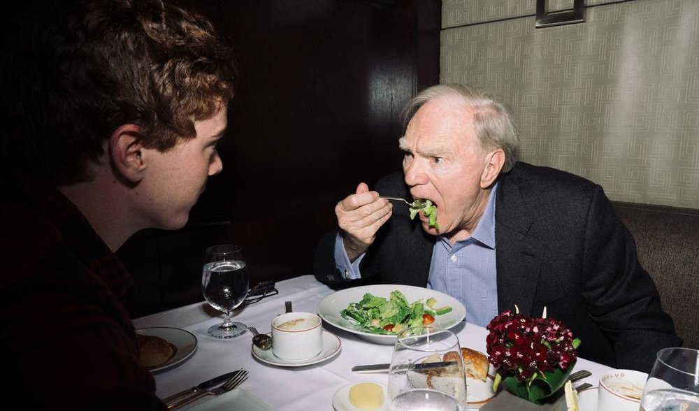 My Lunch with Robert McKee, the 'God of Story' - I caught up with screenwriting guru whose new book, 'Dialogue,' proves he should be required reading for storytellers of any kind.