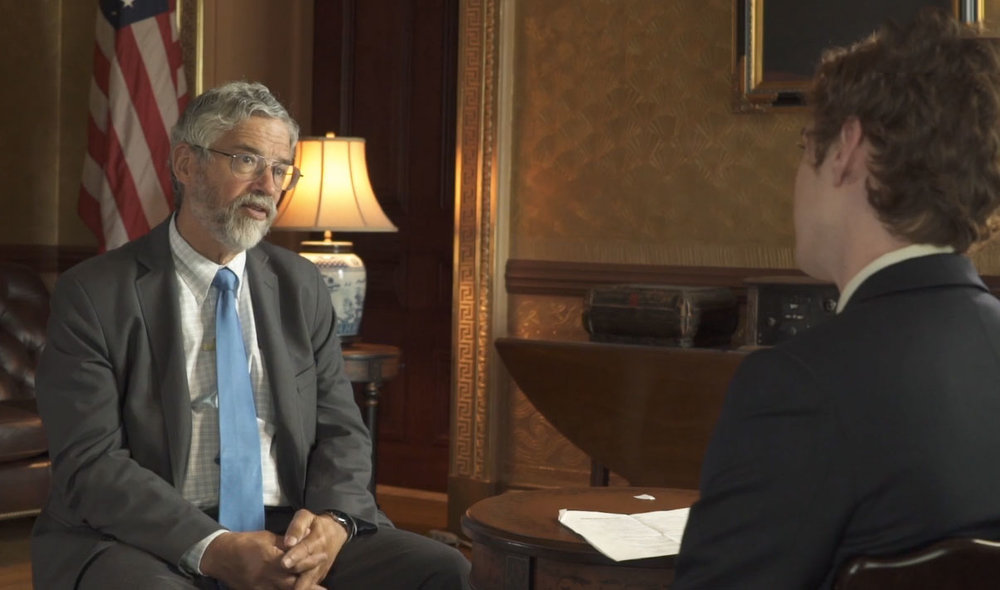 Talking Climate Change with Obama's Science Advisor  - I headed to the White House to sit down with Obama advisor John Holdren to discuss global warming, California's wildfire problems, and what everyone needs to do to keep the world alive.