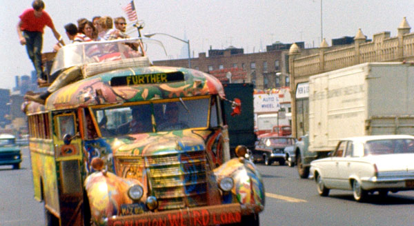 WNYC's 'On the Media' - In honor of the 50th anniversary of Tom Wolfe's Electric Kool-Aid Acid Test, Wolfe and I spoke to WNYC's Brooke Gladstone about Ken Kesey and the birth of the hippie movement.