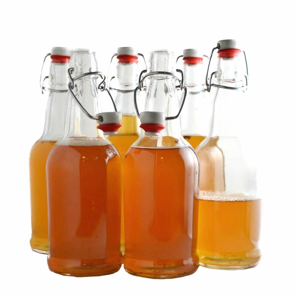 16 Oz Swing Top Bottles 6 Pack The Kombucha Shop